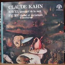 CLAUDE KAHN/RAVEL/FAURE JEROME BOSCH COVER FRENCH LP EPIDAURE