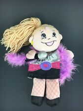 Target Hand Puppet Girl Rock Star Holding Microphone