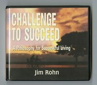 Challenge to Succeed: by Jim Rohn- Audiobook - 6CDs