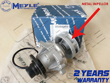 FOR BMW E46 328i 328 330Ci 330 PETROL ENGINE COOLANT WATER PUMP MEYLE GERMANY