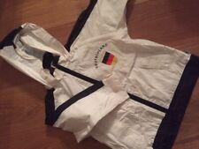 Jungen Übergangs Regen und Trainingsjacke JAKO-O 116 schwarz weiß