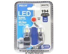 NEW Pilot Automotive 194 LED Bulb SMD 5 LED, 2-Pack IL-194W-5 12V 1W Bulb