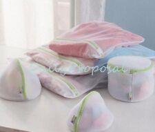 6 Pcs Mesh Washer Bag Set Laundry Net Underwear Undergarment Protective Wash USA