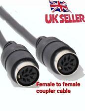 Acoplador de Extensor De Cable Din Powerlink para de Bang Olufsen Beolab 3,5,7 & 8 Pin MK2/3