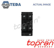 TOPRAN DRIVER SIDE FRONT WINDOW LIFT SWITCH BUTTON 114 754 I NEW OE REPLACEMENT