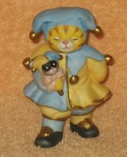 "Kitty Cucumber J.P. Buster ""The Jolly Jester"" Porcelain Figurine - Schmid 1994"