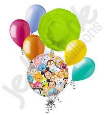7 pc Disney Tsum Tsum Balloon Bouquet Party Decoration Happy Birthday Mickey