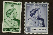 CAYMAN IS 1948 RSW SET UM/LMM (LOWER VALUE IS MM)