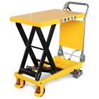Fahrbarer Hubtisch Hubtischwagen mobiler Scherenhubtisch 150 kg 300 kg 500 kg