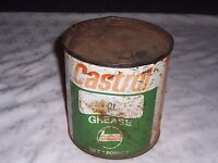 Vintage Castrol Imperial Measure 5 Pound Grease Tin (with Contents)