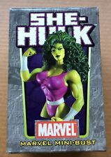 SHE-HULK MINI-BUST (2005) Bowen Designs; Regular Version; #292/3000; MIB