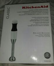 KitchenAid 5KHB2531BWH Classic Hand Blender - White