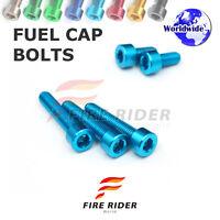 FRW Blue Fuel Cap Bolts Set For Yamaha FJR 1300 04-13 05 06 07 08 09 10 11 12