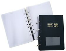 Pilot Checklist Holder - Military - 25 Pages [CH-MIL]