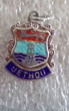UK Britain Royal Town Charter Hall City Municipal Silver Charm Fob Jethou Island