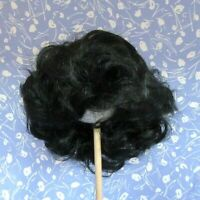 Playhouse Baby BABY Black Full Cap Doll Wig Size 16-17, Boy or Girl - LARGE