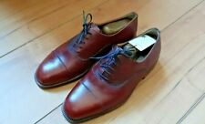 NEU! Moreschi, Oxford cap toe, 5fach Schnürung, Scotchgrain bordeaux UK Gr. 6,5