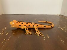 2000 Imperial Rubber Bead Filled Squishy Spotted Gold Lizard Toy