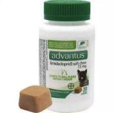 Advantus Small Dog 30 Soft Chew Oral Flea Treatment 4-22 Pounds Fast Acting