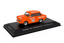 IXO Models 1/43 1965 Trabant 601 Jagermeister #29 Hans Stuck