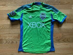 Adidas 2009 Seattle Sounders FC Soccer Jersey Youth Size Medium EUC Green
