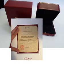 REPLACEMENT CARTIER BRACELET CERTIFICATE AND BOX same day shipping