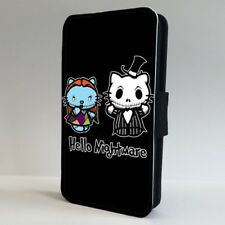 Nightmare Before Christmas Hello Kitty FLIP PHONE CASE COVER for IPHONE SAMSUNG