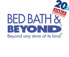 Bed Bath and Beyond  1coupon for 20% Off Entire Purchase online or in store