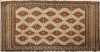 Geometric Bokhara Oriental Traditional Area Rug Hand-knotted Kitchen Carpet 2x3
