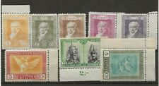 Spain Stamps 1928 and 1930 Goya and Santiago Mint Hinged with Margins