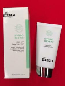 DR BRANDT Hydro Biotic Recovery Sleeping Mask 1.7oz/50g Full Size - NEW in Box!