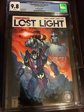 CGC 9.8 Transformers: Lost Light 1 Bad Wolf Comics Exclusive Variant