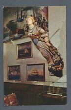 Postcard The Mariners Museum, Newport News, Virginia Edmonton Figurehead