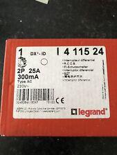 Interrupteur Différentiel Legrand 2P25A 300mA