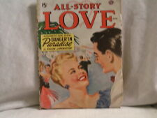 AUGUST 1948 ALL STORY LOVE PULP MAGAZINE