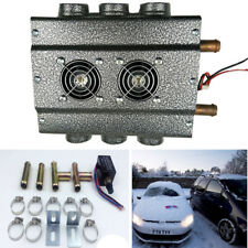 12V 6-Hole Compact Truck Car Heater Water Heating Defroster Demister w/ Switch