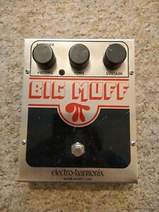 Electro Harmonix Big Muff Fuzz Guitar Pedal