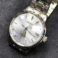 SEIKO Presage SRP841J1 Automatic Cocktail Japan Made Warranty Ladies Baby Blue