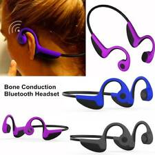 Bone Conduction Bluetooth Headset Wireless Sport Headphone Noise Cancelling
