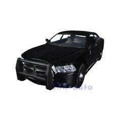 MOTORMAX 2011 DODGE CHARGER PURSUIT POLICE UNMARKED BLACK 1/24 DIECAST CAR 76953