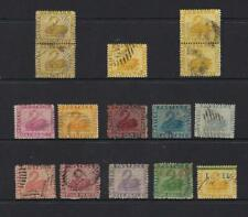 WESTERN AUSTRALIA SMALL SELECTION OF EARLY SWANS 1d TO 1/- (15) Inc. 2 Pairs