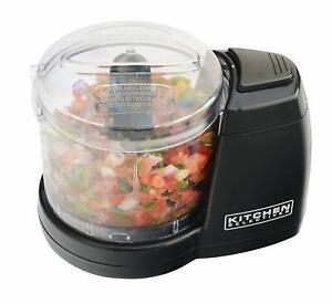Compact Electric Mini Food Processor Kitchen Chopper Vegetable Safe Dishwashable