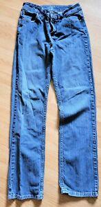 "Riders By Lee Womens Size 12L Bootcut Dark Wash Denim Blue Jeans 30"" W / 32"" L"