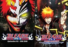 English Version ~ Bleach (Chapter 1 - 366 End + 4 Movie) ~ 20-DVD ~ DHL Express