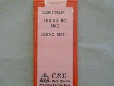 Gewindeplatten von CPT, 16IL 3,5 ISO MXC