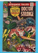 Strange Tales #155 Marvel Comics 1967 Nick Fury All Steranko Fury VG-