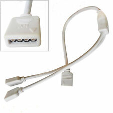 1 to 2 RGB 4 Pin Connector 5050 3528 Female Splitter Cable to LED Strip Light UK