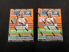 Lot Of (2) 2021 Panini WNBA Prizm Basketball Factory Sealed Blaster Box