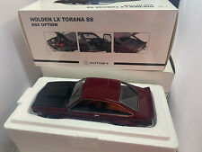 1 18 Holden LX TORANA SS A9x Option Hatchback Madeira Red Biante 73466
