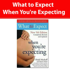 What to Expect When You're Expecting 5th Edition by Heidi Murkoff Paperback NEW